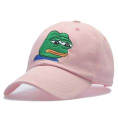 3eb322e2376 Pepe The Frog Hat. Cheap panel hat
