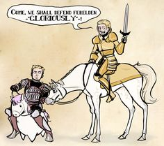 Alistair and Cailan By Mwar.