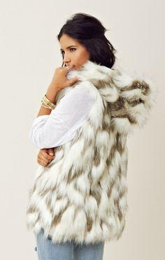 Christy Faux Fur Vest