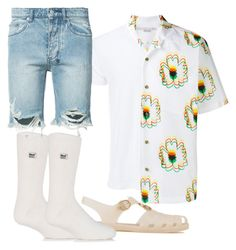 """Untitled #15"" by ddenawang on Polyvore featuring Simplex Apparel, STELLA McCARTNEY, Heat Holders, Gucci, Ksubi, men's fashion and menswear"