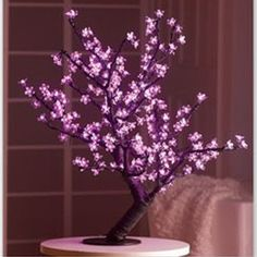 LED Cherry Blossom Tree, They have this at Kirklands and I want it!!!