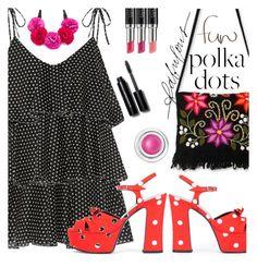 """So Dotty:  Polka Dots"" by juliehooper ❤ liked on Polyvore featuring Lisa Marie Fernandez, Yves Saint Laurent, NOVICA, Kate Spade, Stella & Dot, Laura Geller, Bobbi Brown Cosmetics, tarte, PolkaDots and polyvoreeditorial"