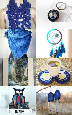 Blues by Marilyn on Etsy--Pinned with TreasuryPin.com