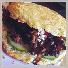 Paleo Cauliflower Hamburger Buns and more paleo ground beef recipes on MyNaturalFamily.com #paleo #groundbeef #recipes