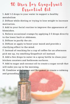 There are so many different ways to use doTERRA's Grapefruit Essential Oil. Which way do you need to use it right now?
