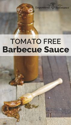 Tomato Free Barbecue Sauce from The Paleo Approach Cookbook #paleo #glutenfree #autoimmunepaleo