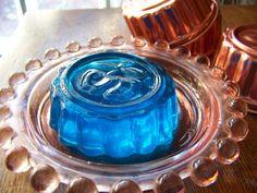 Vintage Copper Tone Jello Molds Set of Six Acorn by CynthiasAttic