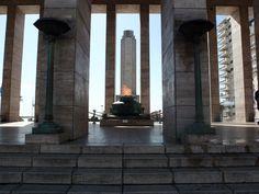 Monumento a la Bandera en la ciudad de Rosario #Argentina