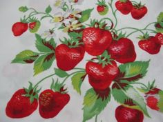 Berry Pretty... Vintage Wilendur Strawberry by InWithTheOld
