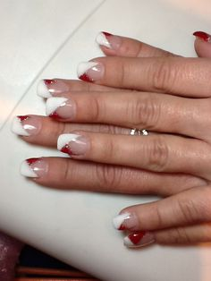 White and red!