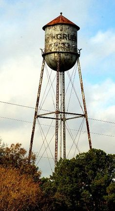 This is Texas, y'all. If you ever get a chance, visit Gruene, Texas, the Gristmill and Gruene Hall. Awesome!
