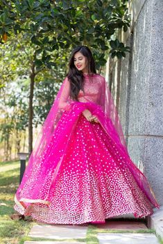 Look gorgeous in this super affordable chic lehenga this festive season. Prices mentioned in the post. Indian Fashion Dresses, Indian Bridal Outfits, Indian Gowns Dresses, Dress Indian Style, Indian Designer Outfits, Pakistani Clothing, Abaya Style, Hijab Fashion, Fashion Outfits