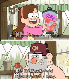 I love this, because it means Stan actually had some just because he loves Mabel. Stan is my favorite!