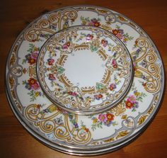 Vintage kings court china margo vintage envy pinterest china cauldon china multi colored pattern color patternsdinnerwareplatesporcelaindinner fandeluxe Images