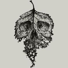 Dead Leaf is a T Shirt designed by moutchy to illustrate your life and is available at Design By Humans