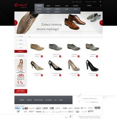 E-commerce for shoes producer. Visit online www.sklep.conhpol.pl