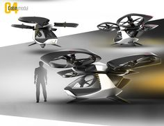 The combination of autonomous systems and multicopters made it possible to create an unmanned flying vehicle. The modular structure allows to use it for different applications. With a cabin it is an aerial taxi, with a container it is a cargo plane or it …