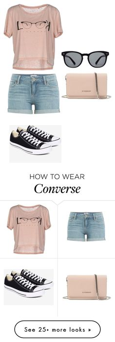 """""""Bez naslova #261"""" by kikabijelic on Polyvore featuring Paige Denim, ONLY, Converse, Givenchy and Dolce&Gabbana"""
