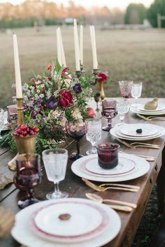 Elegant, eclectic farm wedding inspiration. Photography: Jess Hunter - www.jesshunterphotography.com