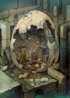 Illustration by Demizu Posuka