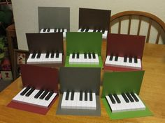 Piano pop up printable