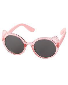 d6fa53797ed2 Baby Girl Kitty Ear Sunglasses