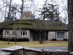 "Charlevoix's ""mushroom houses"" and the man who built them   Michigan Radio"