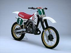1983 Factory Yamaha YZM250 Danny LaPorte Фотографии от пользователя Tony Blazier на Flickr