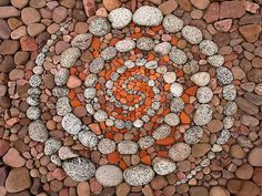 German artist Dietmar Voorwold creates beautiful land art installations using only natural materials found on location.