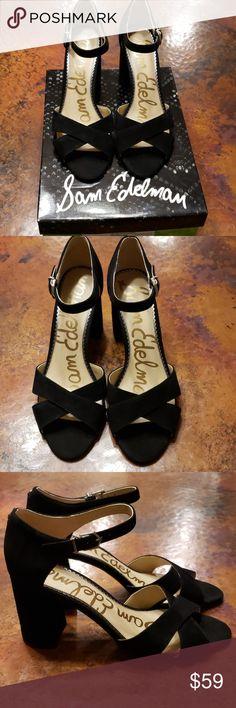 7a5de1c8f65c NIB Sam Edelman Orlane Sandals Black Size 9M Brand new in box