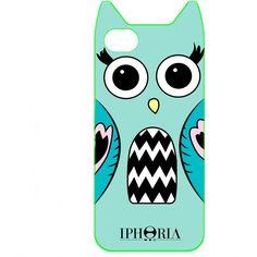 """iPhone 5 Hülle """"Foxy Case"""" von Iphoria, in Variante Eule"""