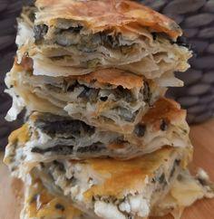 Spanakopita, Lasagna, Snacks, Ethnic Recipes, Food, Greek, Appetizers, Essen, Meals