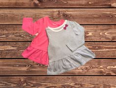 Girls Shirts, Set of Two (Size: 18 Months)