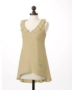 Wake Forest Demon Deacons | Ruffle Front Tunic | meesh & mia