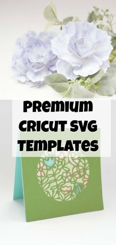 cricut paper flower svg templates