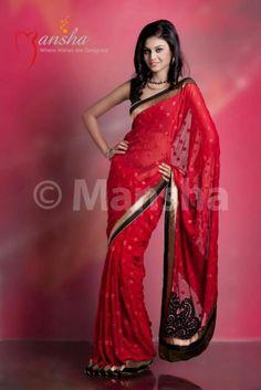Mansha Vanarsi Saree
