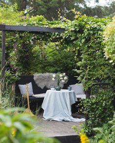 The Best 20 Garden Decoration Ideas Of 2019 Outdoor Sofa, Outdoor Furniture Sets, Outdoor Decor, Boho Home, Aalborg, Royal Caribbean, Hygge, Interior Inspiration, Bed