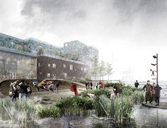 Über und unter Wasser - C.F. Møller gewinnen in Kopenhagen