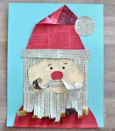 newspaper-santa-craft-3