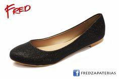 #FredZapaterias Flats, CoffiDu, color negro brillante https://www.facebook.com/fred.zapaterias