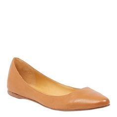 A classic wardrobe essential 'Speakup' is a timeless, point-toe flat full of classic lines available in ready-to-wear colours, fabrics and textures. Leather upper. NINE WEST $99