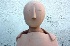 Ceramic bust sculpture BUDDHA figurative artwork by elisavetasivas, €350.00