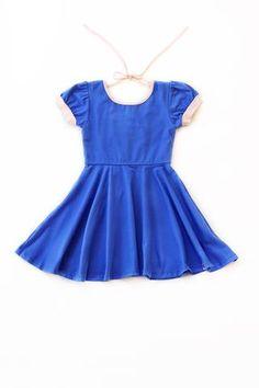 Dancer Dress / French Blue   Peach by Love, Omi Jo