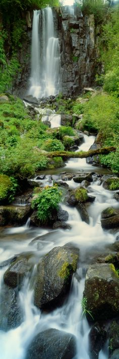 France--Puy de Dome, Cascade d'Anglard, Sancy