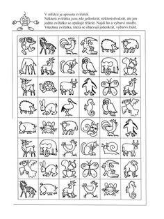 Hráškovy úkoly pro předškoláky | i-creative.cz - Inspirace, návody a nápady pro rodiče, učitele a pro všechny, kteří rádi tvoří. Alphabet Activities, Classroom Activities, Sudoku, Art Plastique, Worksheets, Preschool, Clip Art, Teaching, Education