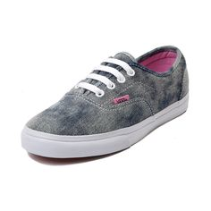 Shop for Vans LPE Acid Wash Skate Shoe in Blue Acid Wash at Journeys Shoes. Shop today for the hottest brands in mens shoes and womens shoes at Journeys.com.Lo Profile Era. Its a slimmed down version of the classic Vans Era. Features include a canvas upper with contour stitching, padded collar, and vulcanized outsole with micro waffle tread. Blue acid wash denim colorway with pink contrast lining. Available only online at Journeys.com and SHIbyJourneys.com!