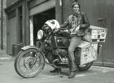 Interview: Meet Elspeth Beard, the fearless adventure motorcyclist who became the first British woman to ride around the world.