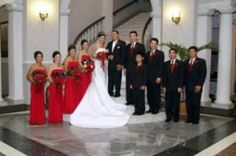 black and white and red wedding theme - Google Search