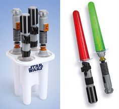 Lightsaber Popsicle Maker