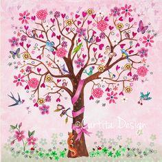 Dessin & Flowers Greeting Cards 2014 by Cartita Design, via Behance Art Fantaisiste, Baby Girl Announcement, Creation Photo, Doodle Coloring, Dibujos Cute, Dutch Artists, Flowering Trees, Fabric Wallpaper, Heart Art